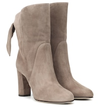 Malene 85 suede ankle boots