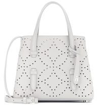 Mina Mini embellished leather tote