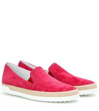 Baskets slip-on en daim