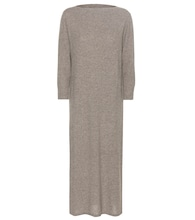 Cara wool and cotton-blend sweater dress