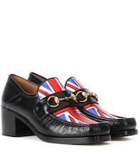 Union Jack Horsebit leather loafers