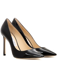 Pumps Romy 100 aus Lackleder
