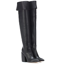 Shirin leather over-the-knee boots