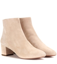 Baroque Bootie 50 suede ankle boots