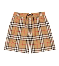 Vintage Check swim trunks