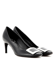Belle De Nuit patent leather pumps