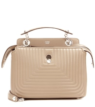 DotCom Click leather shoulder bag