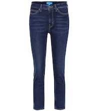 Niki high-rise straight jeans