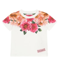 Baby floral cotton T-shirt