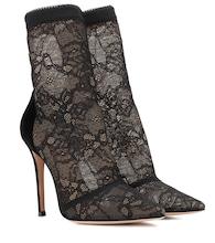 Brinn lace ankle boots