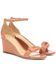 Vicky 75 leather sandals