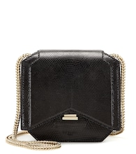 New Mini Chain lizard leather shoulder bag