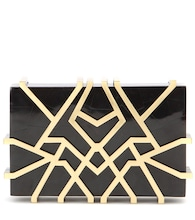 mytheresa.com exclusive Eliferia shell box clutch