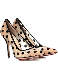 Polka-dot pumps
