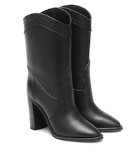 Kate Western leather ankle boots