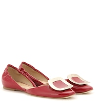 Chips patent leather ballerinas