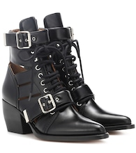 Rylee leather ankle boots