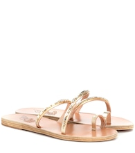Apli Katia leather sandals