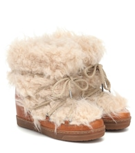 Nowles faux-shearling snow boots