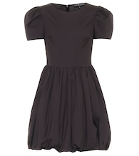 Gwyneth stretch cotton-blend minidress