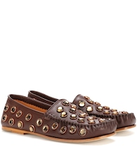 Jackson Stone leather loafers