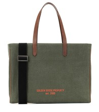 Golden Property canvas shopper