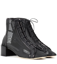 Mable mesh ankle boots