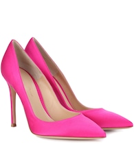 Escarpins en satin Gianvito 105