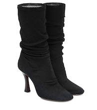 Tuberola stretch-knit boots