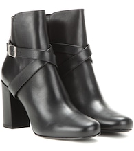 Babies 90 leather ankle boots