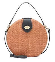 Exclusive to Mytheresa – Wicker shoulder bag