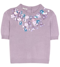 Exclusive to mytheresa.com – embellished virgin wool sweater