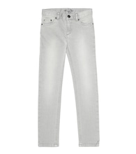 Coyote stretch-cotton jeans