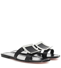 Biki Viv' leather slides