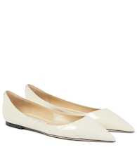 Love patent leather ballet flats