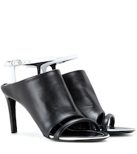 Spy leather sandals