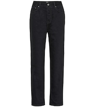 Devon high-rise slim jeans
