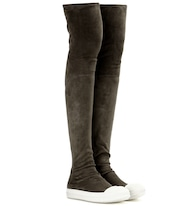 High Sock suede over-the-knee boots