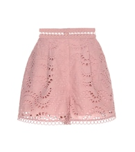 Exclusive to mytheresa.com – embroidered cotton voile shorts