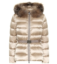 Tatie fur-trimmed down jacket