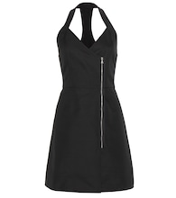 Racer-back mini dress
