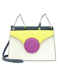 Phoebe Mini leather shoulder bag