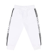 Baby logo cotton trackpants