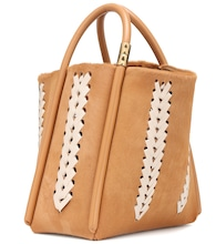 Lotus 28 Whipstitch calf hair tote
