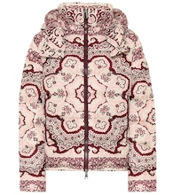 Turquin printed down jacket