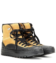Sneaker Chuck Taylor All Star Tekoa in pelle