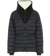 Reversible Polar down ski jacket