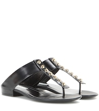 Classic Screw leather sandals