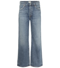Flavie high-rise wide-leg jeans