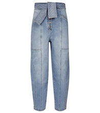 Otto high-rise straight jeans